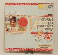 A Project by Laurel S from our Scrapbooking Stamping Galleries originally submitted 08/03/12 at 12:04 AM