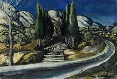 Auguste Chabaud, Chapel in the Cypesses