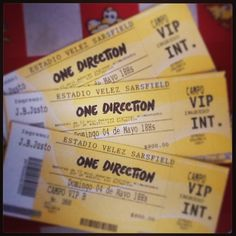 Tickets for Where We Are Tour!!! #Amazing<< IM GOING TO WWA VIP TOO!! Got the tix for Christmas!!! GOING WITH MY ONE OF MY BESTIES