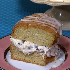 Nina Scavone Summer Chocolate Chip Napoleon recipe. #thechew