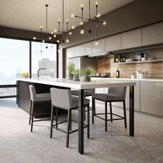 With the improvement of people's living standards, kitchen design has become one of the focuses of modern home design. The kitchen is not only the… Home Decor Kitchen, Kitchen Interior, New Kitchen, Kitchen Dining, Kitchen Ideas, Kitchen Cabinets, Kitchen Layout, Awesome Kitchen, Kitchen Hacks