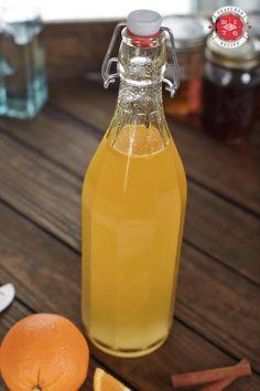 Make Your Own Orange Spice Vodka| 2 Oranges 4 Whole cloves 4 Allspice berries 2 Cinnamon sticks 1 Vanilla bean (split) 10 oz. Everclear® 10 oz. Filtered water 4 oz. Simple syrup