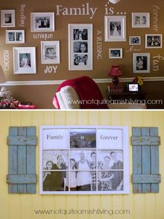 Sharing Family Values In Your Home Decor