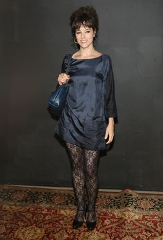 Parker Posey - Marc Jacobs Spring 2014 fashion show, New York Fashion Week (Sept. 12)