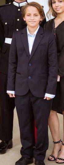 Prince Hashem, 12 aout 2017, Remise du diplôme de l'académie militaire de Sandhurstle à son frère le prince héritier Hussein, Sandhurst (Angleterre)