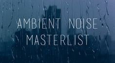 """belt: """" I like to have white or ambient noise playing while I study, so I thought I'd share a list of my favourite websites in case anyone else was interested. •  Rainymood - Allows you to play rain,..."""
