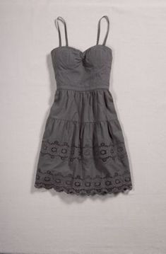 eyelet lace sundress