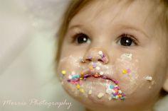 Savannah 1st Birthday Cake Smash - Family Photography