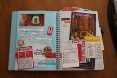 Disney Smash Book by Kathleen Taylor featuring Project Mouse by Britt-ish Designs and Sahlin Studio - Planning