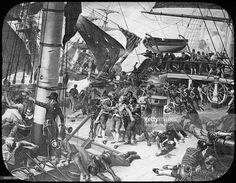 Image result for battle of trafalgar hms victory