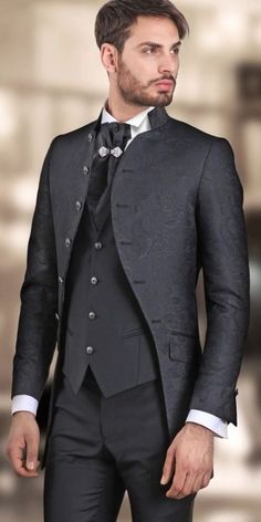 Groom And Groomsmen Style, Gothic Fashion, Bespoke, Blood, Suit Jacket, Menswear, Costumes, Suits, Casual