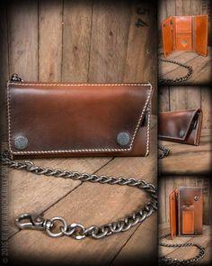 Rumble59 - Leder Wallet Comb - sunburst #rumble59 #wallet #handmade #comb