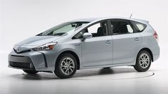 HYBRID 2015 Toyota Prius V - iihs top safety pick. 2015 only, see other model years Toyota Prius, Toyota Corolla, Honda Fit, Mazda, Teen Driver, New Sports Cars, Car Search, Car Travel, Car Detailing