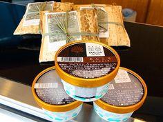 「あんころもち」がジェラートに-石川の老舗和菓子店とジェラートメーカーコラボ(写真ニュース) - 金沢経済新聞