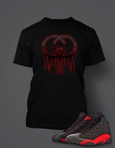 c3a441e52d9e6c New Graphic T Shirt to Match Retro Air Jordan 13 Bred Shoe Air Jordan 13  Bred