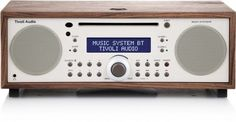 All-in-one AM/FM Hi-Fi system with CD player and Bluetooth