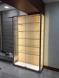 dea352076d2cea Home custom display cabinet by www.chezrich.net Aluminum Kitchen Cabinets