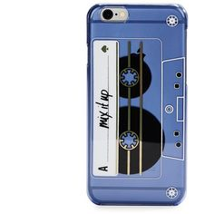 Kate Spade New York Mix It Up iPhone 6 Case ($40) ❤ liked on Polyvore featuring accessories, tech accessories, blue and kate spade