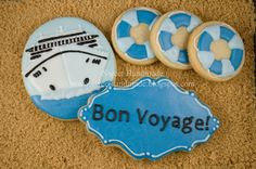 Sweet Handmade : Cruise Ship Vacation Cookies