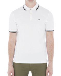 Ben Sherman London New Men/'s T-Shirt Short Sleeve Chest Logo White Tee BNWT
