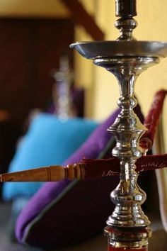 Enjoy a relaxing Shisha upstairs in  Crepe-ology's rooftop terrace. Thanks Andrew!