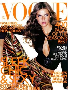 Gisele Bundchen By Mario Testino September 1999