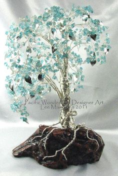 Cascade Weeping Mulberry tree - this image is in a gallery of more of this artist's work.  Beautiful trees!