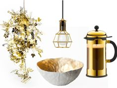 #Gold #decor accessories - repinned by www.dobundle.com