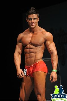 Jaco de Bruyn, at the Mr Body Beautiful 2011 contest, Mr Physique category