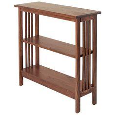 Mission Underwindow Bookshelf With Adjustable Shelf - Furniture @ Manchester Wood Shelf Furniture, Unique Furniture, Accent Furniture, Furniture Plans, Furniture Making, Furniture Design, Mission Furniture, Office Furniture, Horizontal Bookcase