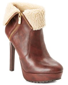 "Spotted this BCBGeneration ""Willow"" Leather Bootie on Rue La La. Shop (quickly!)."