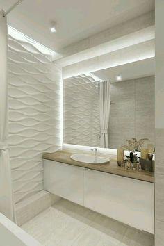 Bathroom Design Luxury, Modern Bathroom Decor, Modern Bathroom Design, Bathroom Designs, Modern Decor, Bathroom Ideas, Kitchen Modern, Shower Ideas, Pinterest Bathroom