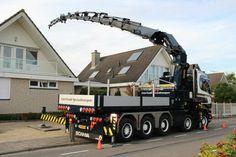 Truck Transport, Big Rig Trucks, Heavy Truck, Heavy Equipment, Crane, Volvo, Cars And Motorcycles, Nissan, Transportation