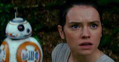 "Rey in Star Wars Episode VII ""The Force Awakens"""
