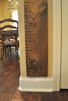 That Village House: DiY Growth Chart