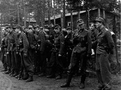 The 6th SS Mountain Division Nord Original Photos