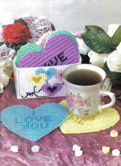 Candy Hearts Coaster Set 1/3