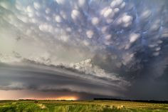 https://flic.kr/p/otiHJ3   Burwell supercell with mammatus   Another shot of the Burwell, Nebraska supercell from June 16 of this year.  This was later, near sunset, on Highway 91 east of Spalding.  This was the storm that just kept on giving.