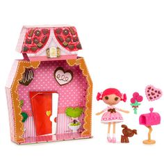 Mini Lalaloopsy Doll - Toffee Cocoa Cuddles