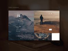 Photo Club Slider Animation by Anton Skvortsov