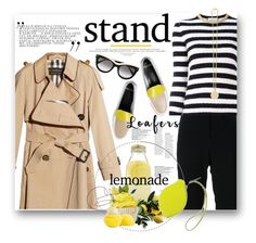 """...make lemonade."" by mercimasada ❤ liked on Polyvore featuring St. John, Burberry, Givenchy, Gucci, Pierre Hardy, Bormioli Rocco, STELLA McCARTNEY, Eos, Hermès and Fall"