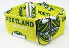 Portland Timberland Adjustable Martingale Dog Collar - Made to Order - by JinsK9Kreations on Etsy