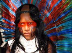índio Kaiapó - Amazonas