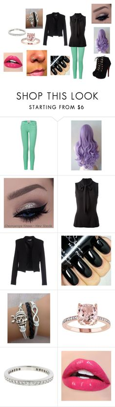 """""""Untitled #201"""" by catvalentine24 ❤ liked on Polyvore featuring Current/Elliott, Dolce&Gabbana, BERNA and Tiffany & Co."""