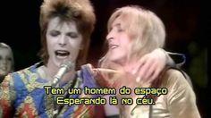 """David Bowie - Starman (""""Homem do Espaço"""", Top of the Pops, 1972)"""