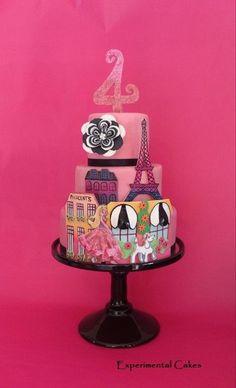 Barbie Paris Cake