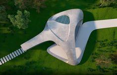 Eduard Galkin Organic Architecture, Concept Architecture, Tap Shoes, Dance Shoes, Concrete Houses, Behance, Watch, Dancing Shoes, Clock