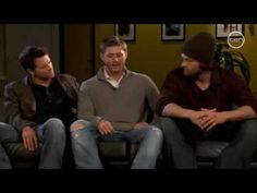 [VIDEO] Jared Padalecki, Jensen Ackles & Misha Collins - Supernatural - Interview for Channel Ten Australia