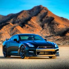 Everyone's favourite badboy - The Nissan GT-R