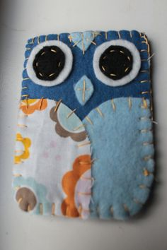 Felt Owl Gift Card Cozy by FlytheCoopCrafts on Etsy, $4.00